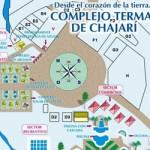 Mapa complejo termal Chajarí
