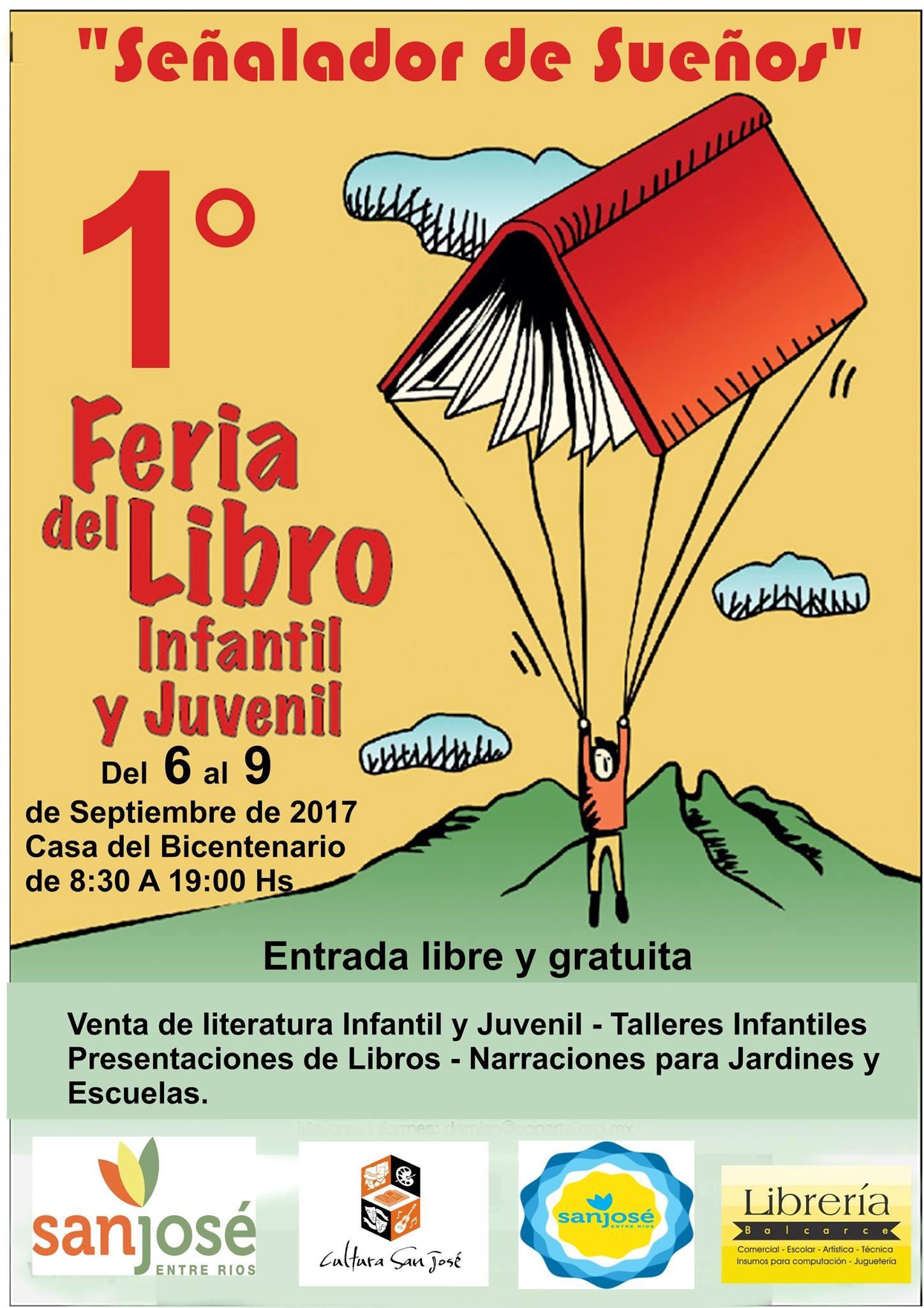 PRIMERA EDICIÓN FERIA DEL LIBRO INFANTO JUVENIL