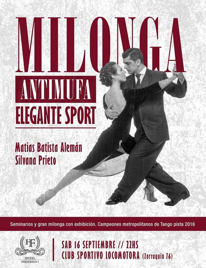 milonga antimufa elengante sport