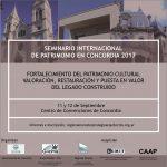 seminario patrimonio concordia