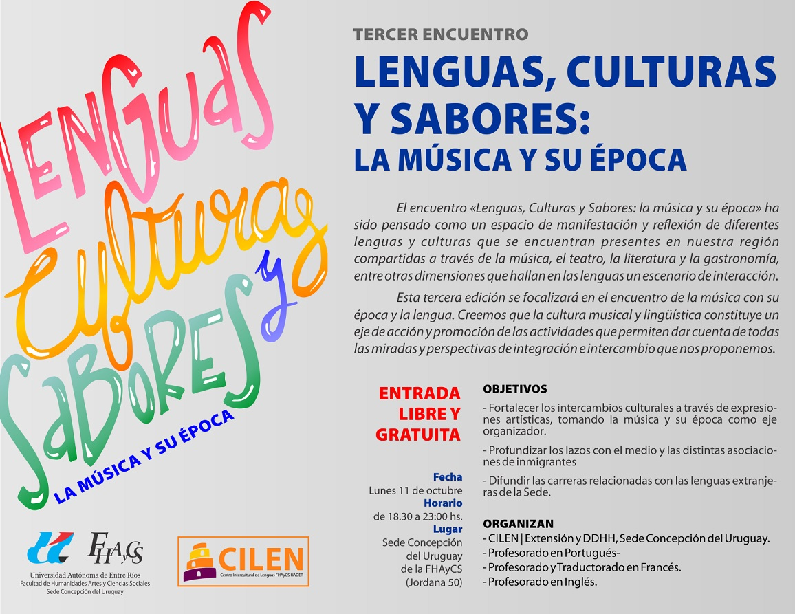 Lenguas Culturas y Sabores