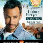 Fiesta de la Playa Flyer Luciano Pereyra