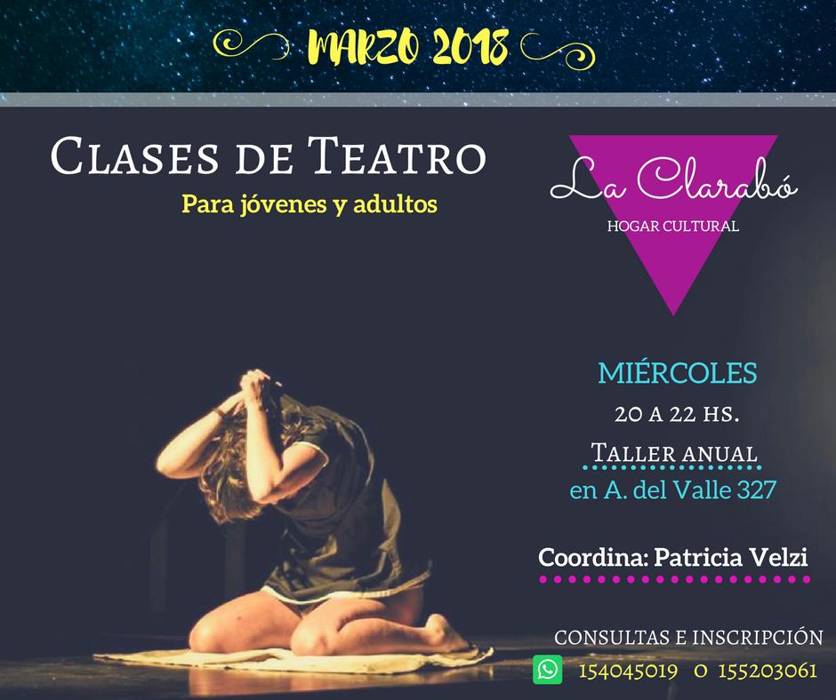 Taller de teatro Patricia Velzi