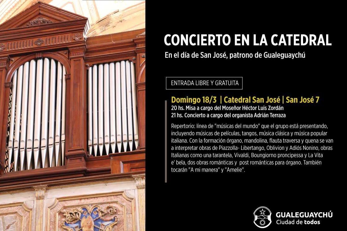 concierto en catedral gchu