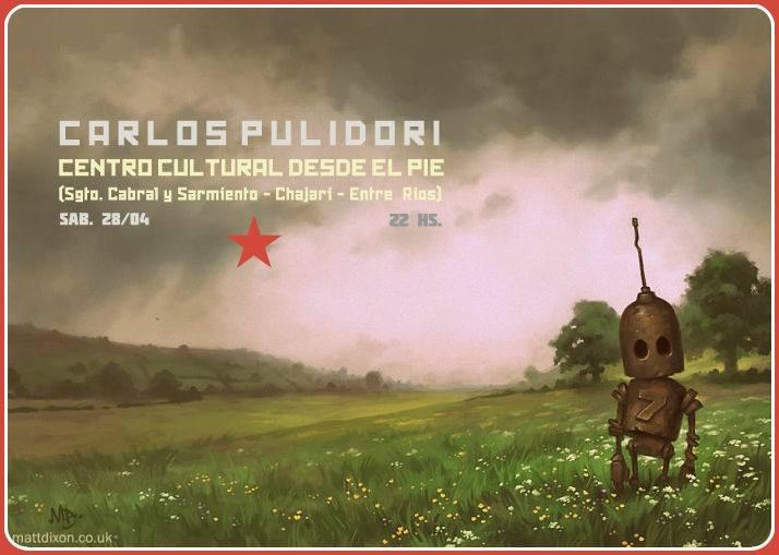 Carlos Pulidori en Desde el pie