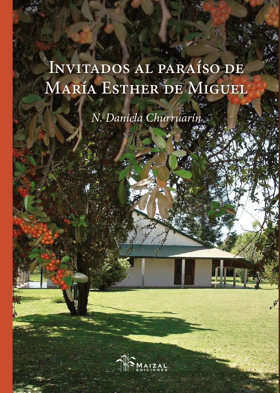 TAPA Invitados al paraíso de Maria Esther de Miguel