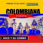 fiesta colombiana en pueblo viejo