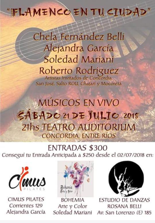 flamenco en tu ciudad