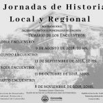 V Jornadas de historia local y regional