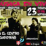 Musica en vivo 23 del 09
